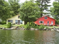 Franklin VT Waterfront Homes