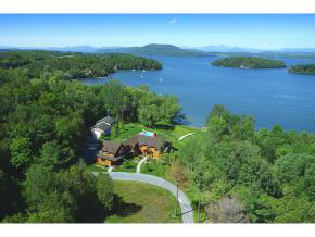 Lake Champlain Waterfront Homes