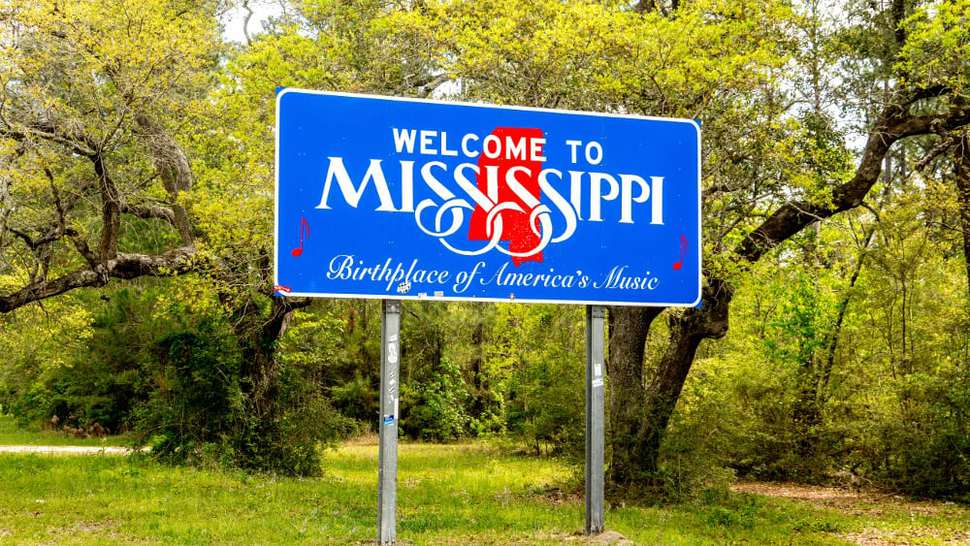 Mississippi by Town