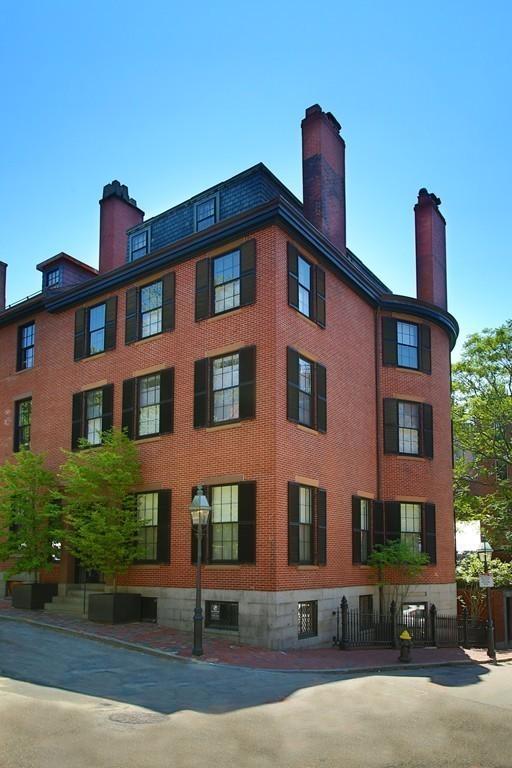 Homes For Sale in Boston's Beacon Hill Neighborhood