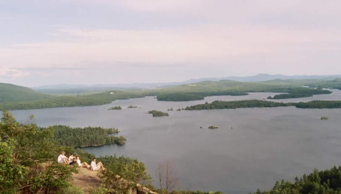 Sunset Lake, NH