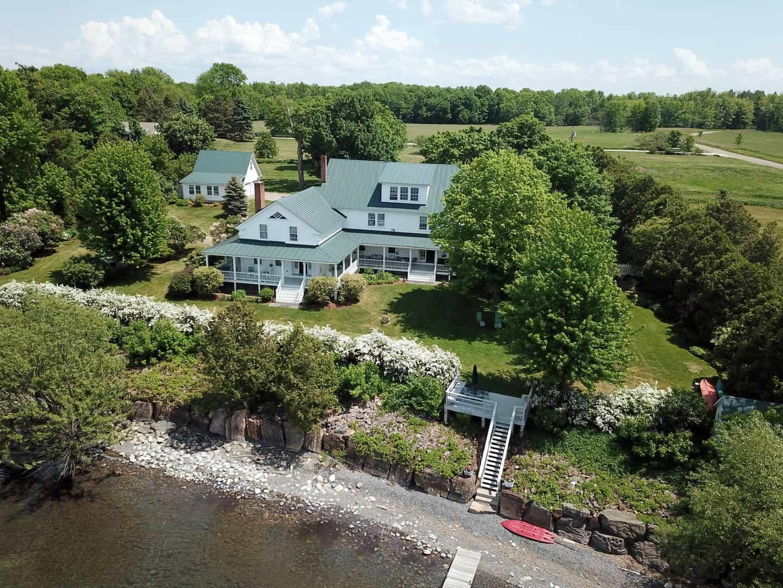 Vermont Luxury Lakefront Homes