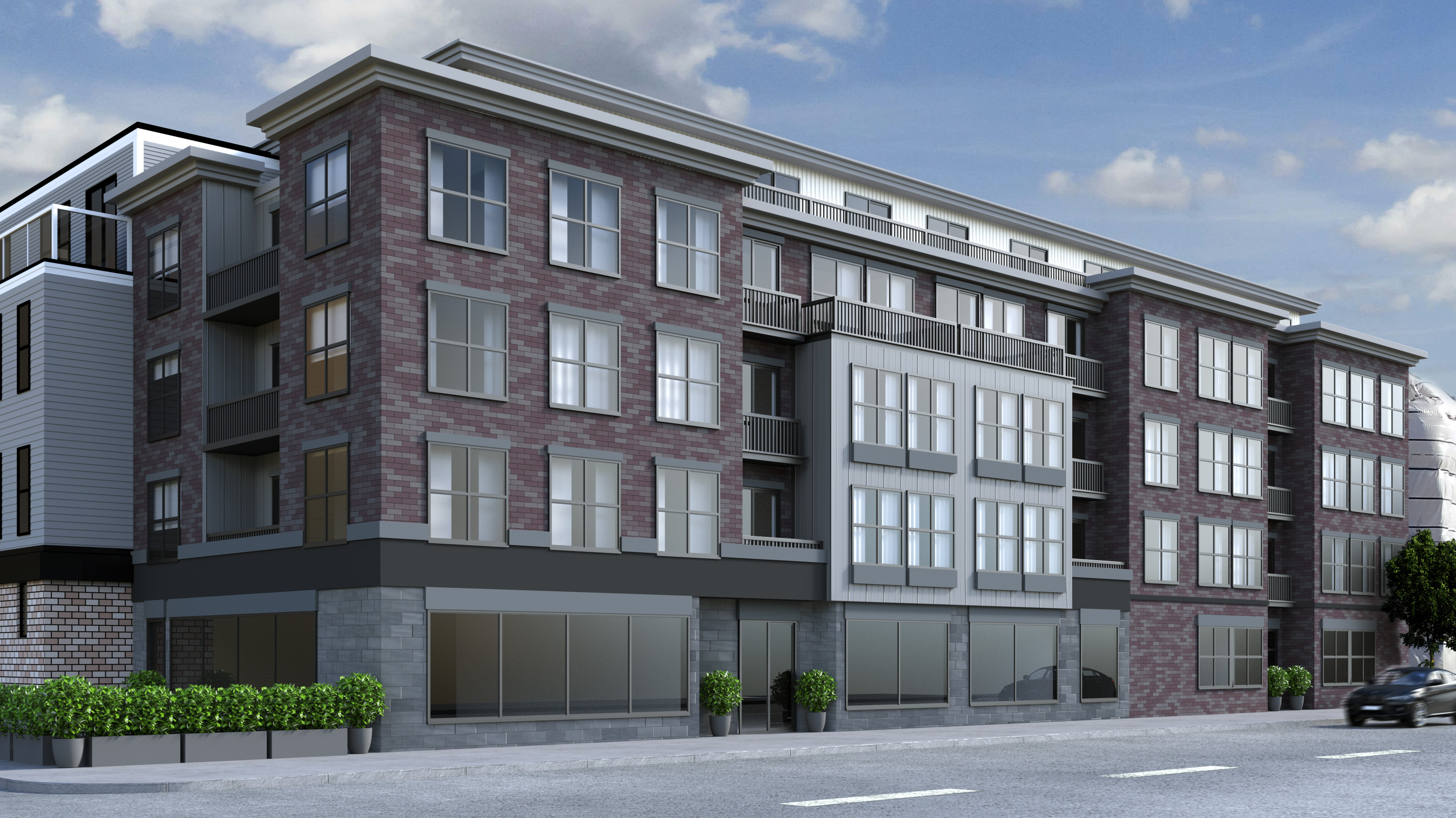 Luxury condos in south boston luxury apartment buildings for Luxury barn builders