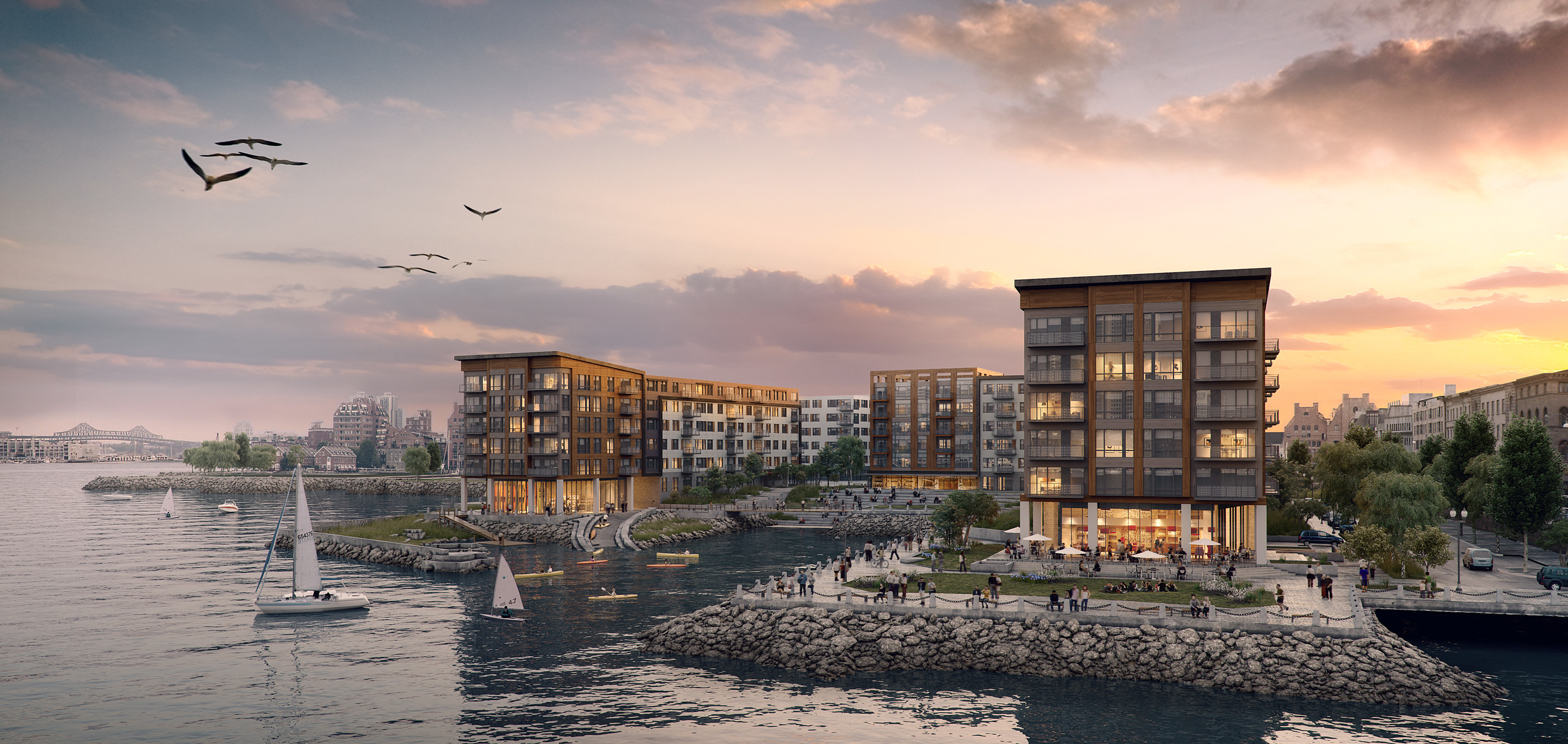DOX at Clippership Wharf | East Boston Waterfront Apartments