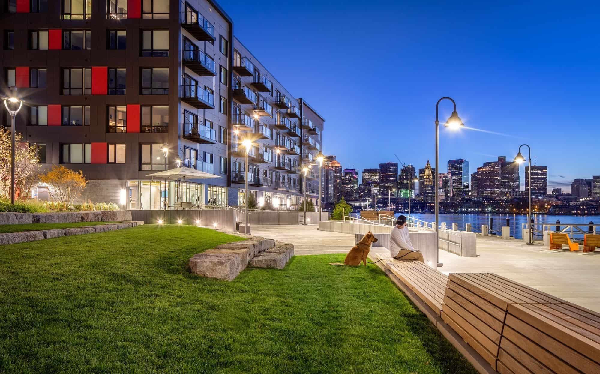 Clippership Apartments on the Wharf